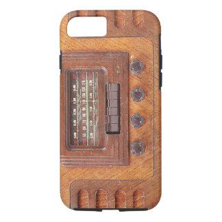Vintage Wooden Radio iPhone 7 Case