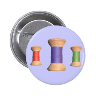 Vintage Wooden Spool Series Button