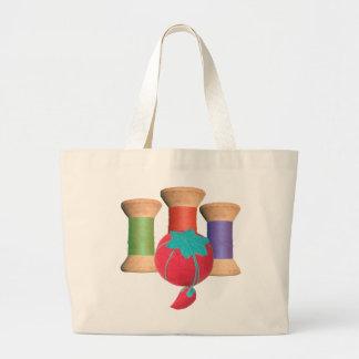 Vintage Wooden Spool Tote Bag