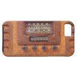 Vintage Woodenl Radio iPhone SE/5/5s Case