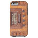 Vintage Woodenl Radio Tough iPhone 6 Case