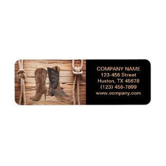 vintage woodgrain cowboy boots western fashion label