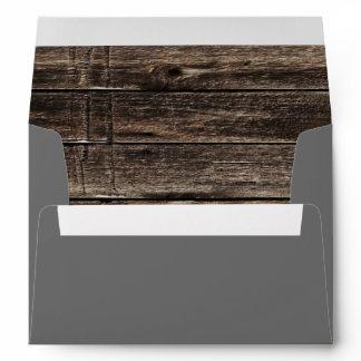 vintage woodgrain handyman construction envelope