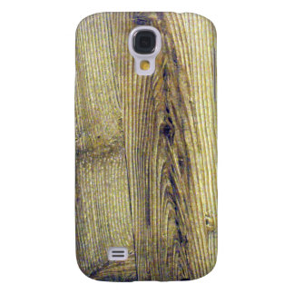 Vintage Woodgrain Texture Galaxy S4 Case
