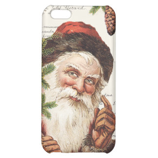 vintage woodland Santa iPhone 5C Covers