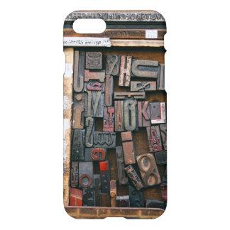 Vintage Woodtype Printing iPhone 8/7 Case