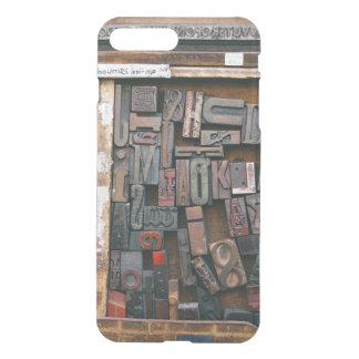 Vintage Woodtype Printing iPhone 8 Plus/7 Plus Case
