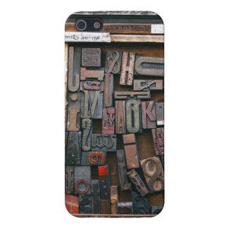 Vintage Woodtype Printing iPhone SE/5/5s Case