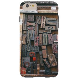 Vintage Woodtype Printing Tough iPhone 6 Plus Case