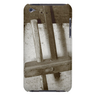 Vintage woodworking tool barely there iPod cover