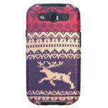 Vintage wool Deer Samsung Galaxy SIII Cover