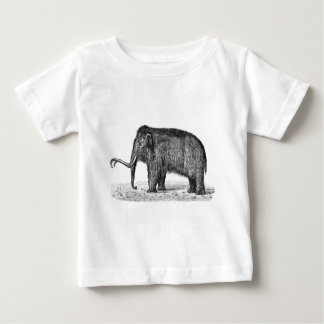 Vintage Woolly Mammoth Illustration Wooly Mammoths T Shirts