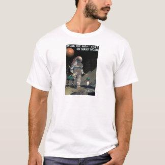 Vintage Work the Night Shift Mars Recruitment T-Shirt