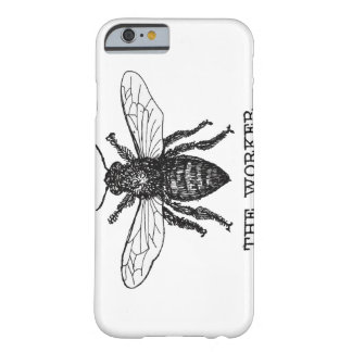 Vintage Worker Bee Illustration Barely There iPhone 6 Case
