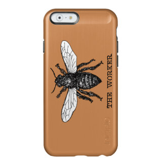 Vintage Worker Bee Illustration Incipio Feather® Shine iPhone 6 Case