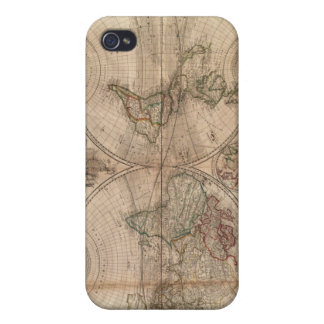 Vintage World iPhone 4 Cover
