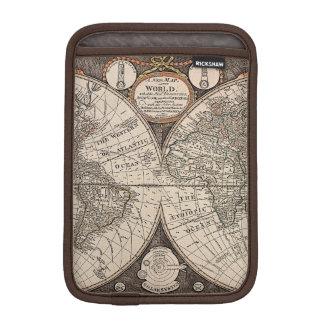Vintage World Map (1766) Sleeve For iPad Mini