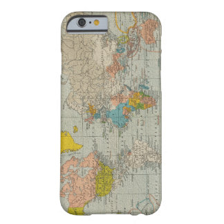 Vintage World Map 1910 Barely There iPhone 6 Case