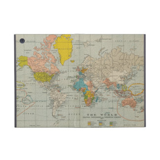 Vintage World Map 1910 iPad Mini Cover