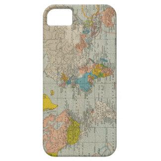Vintage World Map 1910 iPhone SE/5/5s Case