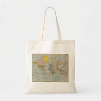 Vintage World Map 1910 Tote Bag