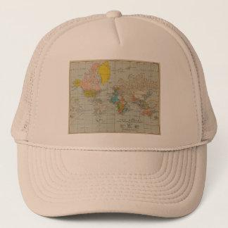 Vintage World Map 1910 Trucker Hat