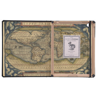 Vintage World Map Atlas Historical Cases For iPad