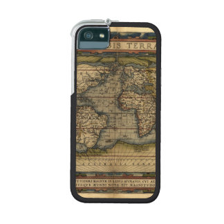 Vintage World Map Atlas Historical Cover For iPhone 5
