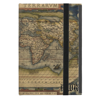 Vintage World Map Atlas Historical Cover For iPad Mini