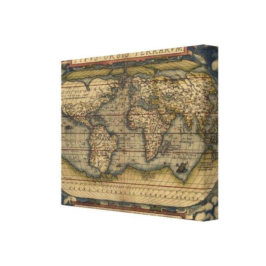 Vintage world map atlas historical design canvas print zazzle vintage world map atlas historical design canvas print gumiabroncs Gallery
