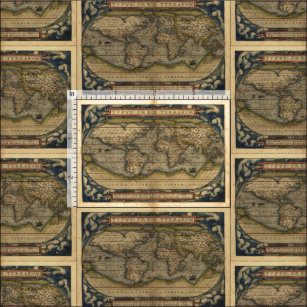 Vintage Map Of The World Craft Supplies | Zazzle on vintage golf fabric, down on the farm fabric, vintage hawaiian upholstery fabric, world map print fabric, vintage green fabric, vintage roses fabric, vintage country fabric, vintage fabric patterns, vintage tapestry upholstery fabric, vintage space fabric, vintage looking maps, vintage train map fabric, colorado fabric, vintage travel fabric, vintage atomic fabric, vintage fashion fabric, vintage blue fabric, vintage daisy kingdom fabric, vintage floral fabric, world map on fabric,