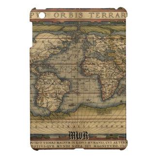 Vintage World Map Atlas Historical Design iPad Mini Covers