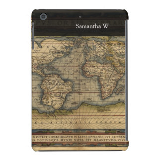 Vintage World Map Atlas Historical Design iPad Mini Retina Covers