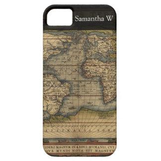 Vintage World Map Atlas Historical Design iPhone SE/5/5s Case