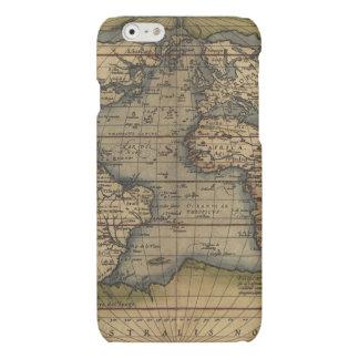 Vintage World Map Atlas Historical Design Matte iPhone 6 Case