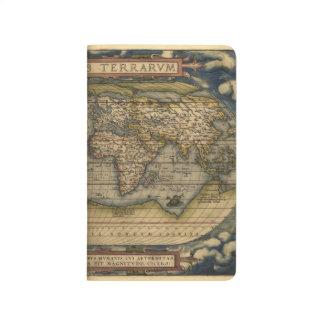 Vintage world map journals zazzle vintage world map atlas historical journal gumiabroncs Gallery