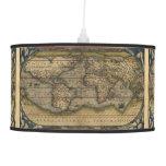 Vintage World Map Atlas Historical Pendant Lamps