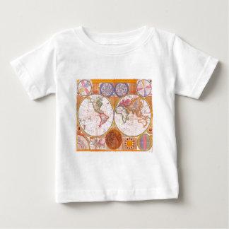 Vintage World Map Baby T-Shirt