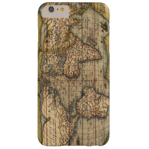 Vintage World Map by Abraham Ortelius 1564 Barely There iPhone 6 Plus Case