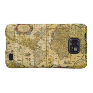 Vintage World Map Galaxy SII Case