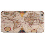 Vintage World Map Circa 1600 Barely There iPhone 6 Plus Case
