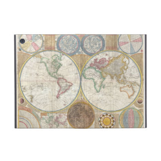 Vintage World Map Cover For iPad Mini