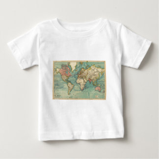 Vintage World Map Infant T-shirt