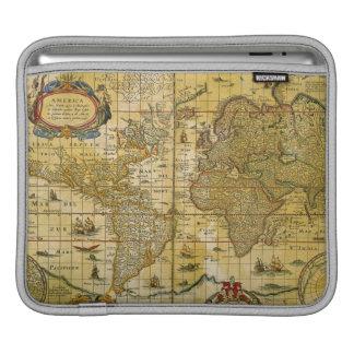 Vintage World Map iPad Sleeve