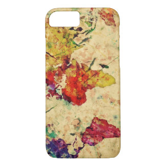 Vintage world map iPhone 8/7 case
