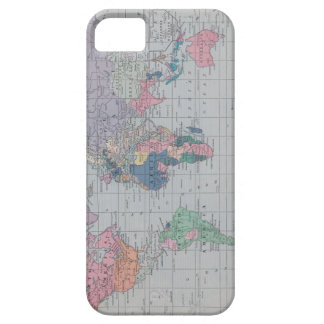 Vintage World Map iphone case iPhone 5 Case