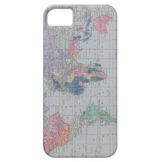 Vintage World Map iphone case