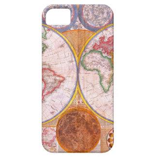 Vintage World Map iPhone SE/5/5s Case
