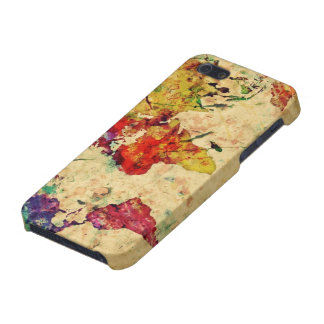 Vintage world map iPhone SE/5/5s cover
