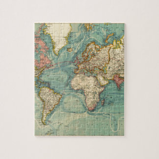 South africa map jigsaw puzzles zazzle vintage world map jigsaw puzzle gumiabroncs Image collections